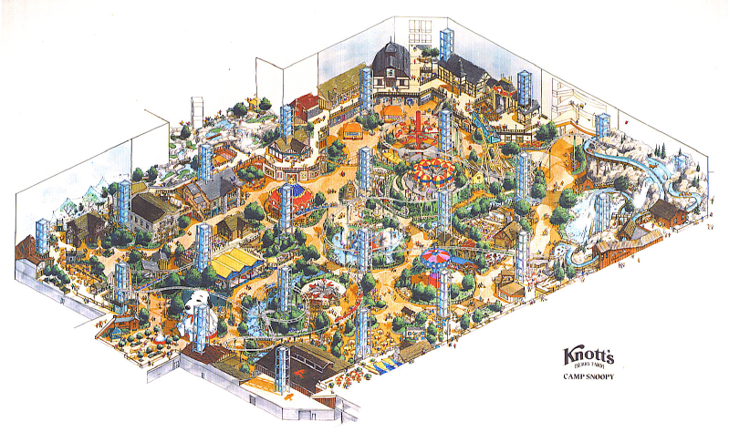 Theme Park and Design Renderings
