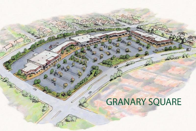 Granary Square, Valencia CA