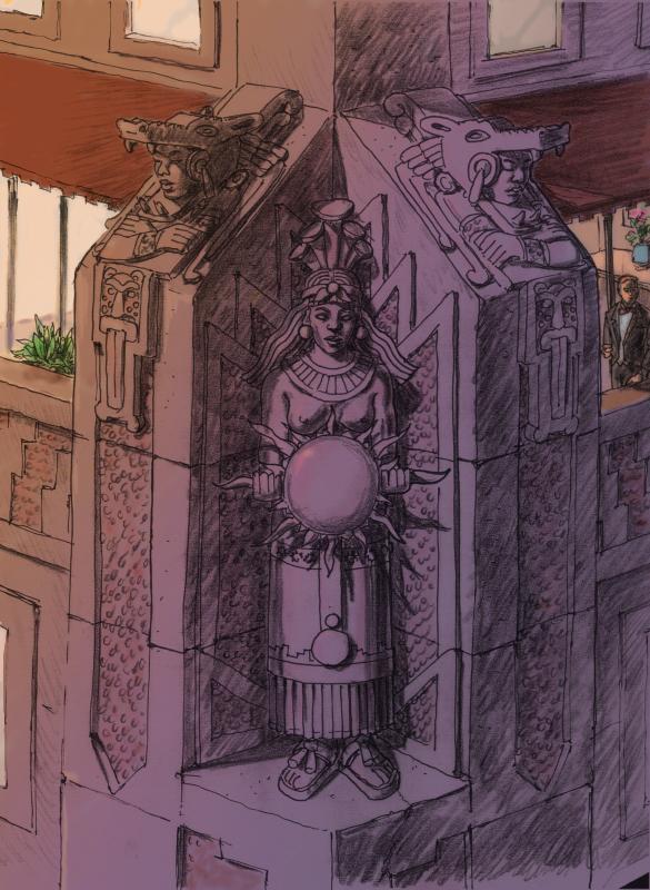 Batman storyboard_gotham gargoyle_color 3307398309[K].JPG
