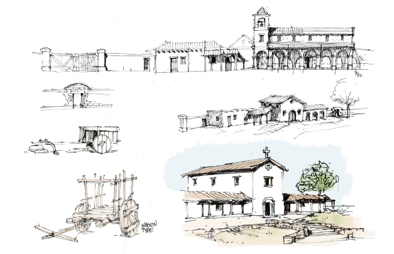 Newhall Ranch Movie Sets