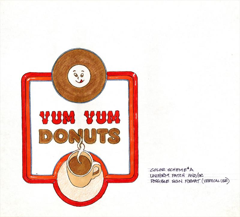 Yum Yum Donuts 1985