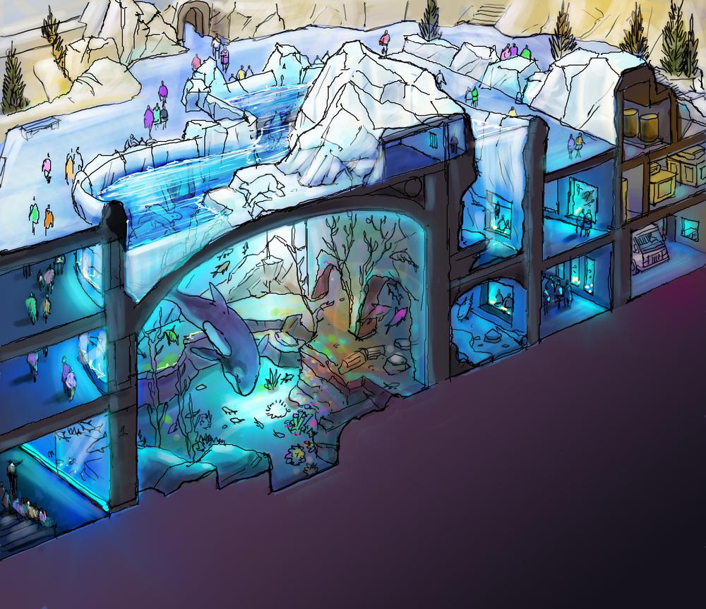 Harbin Aquarium section.jpg