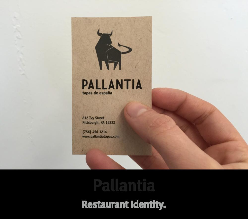 Pallantia | Restaurant Identity