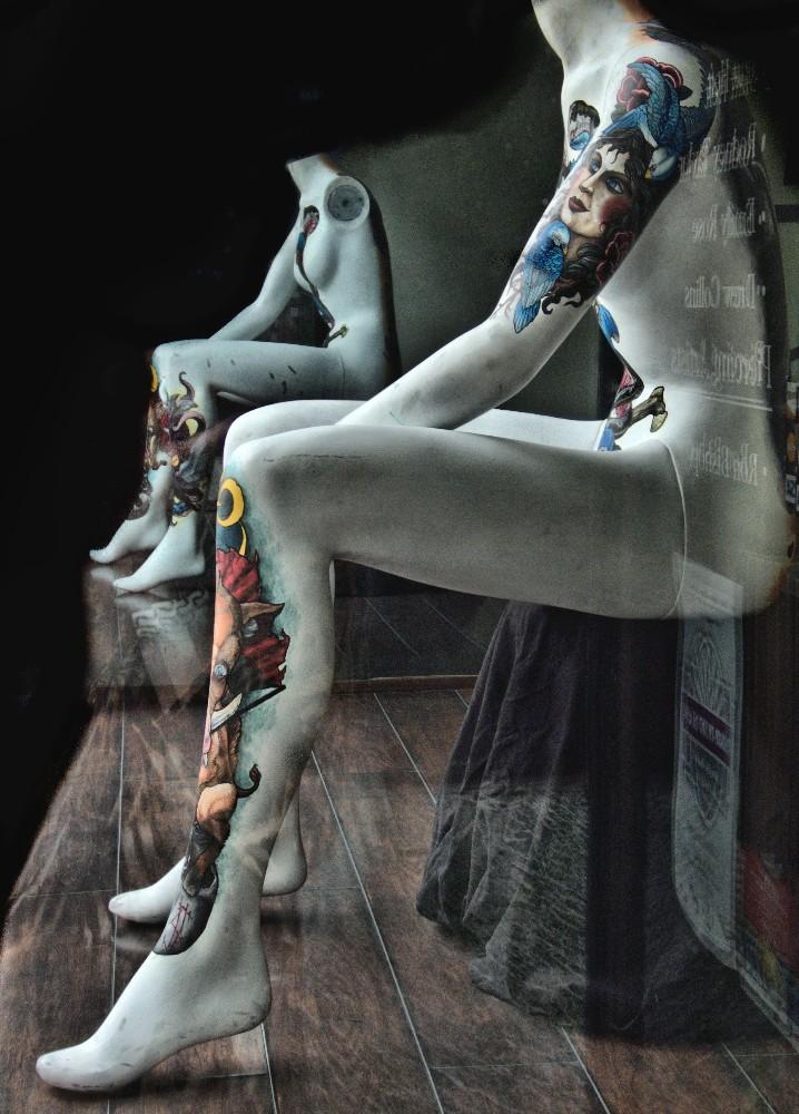 Tatooed Models