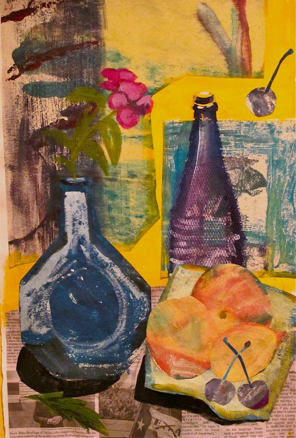 Collage Still-life #1