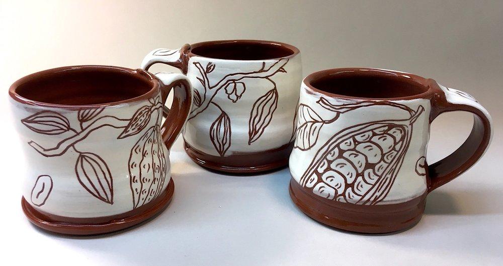 Cocoa Bean Cups