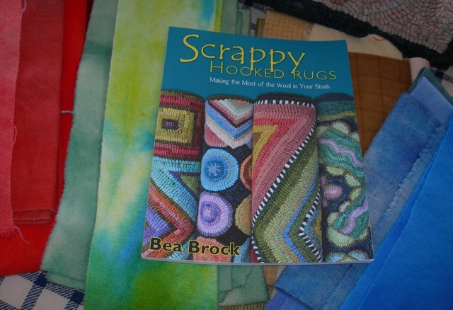 Scrappy Hooked Rugs  can be purchased through  Rug Hooking Magazine  or Amazon.com