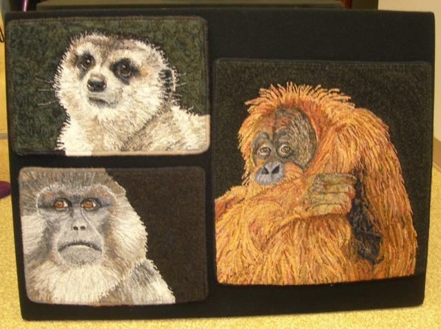 More of Judy Carter's animal creations.