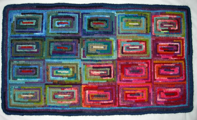 """Variations"". a practical rug."