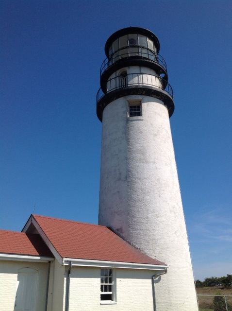 Highland Light in Truro, MA.  Cape Cod's first lighthouse.