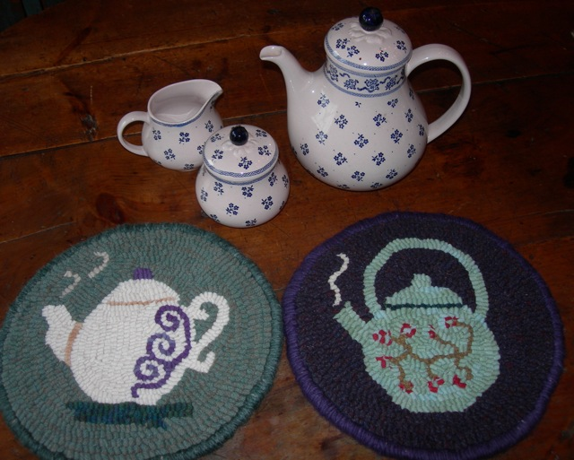 Teapot Trivets soon to be on my Shop page.