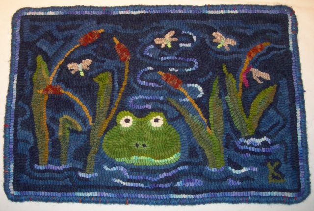 Frogger  all bound and finished.