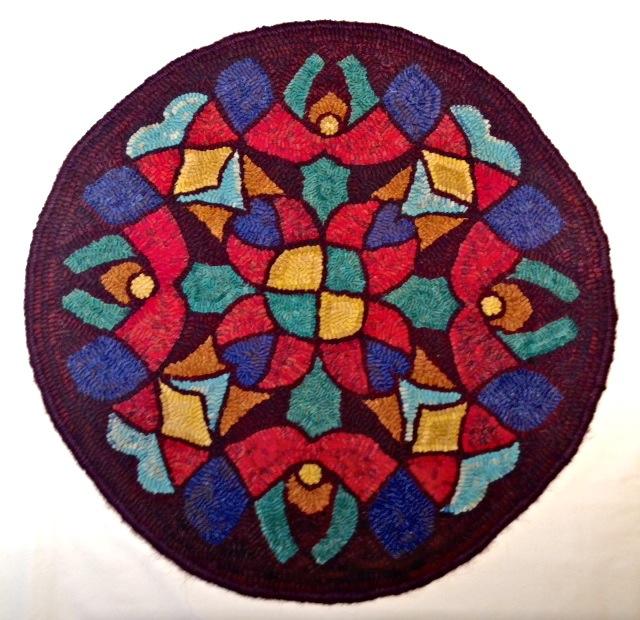 """Snowflake Mandala  - 24"""" diameter"""