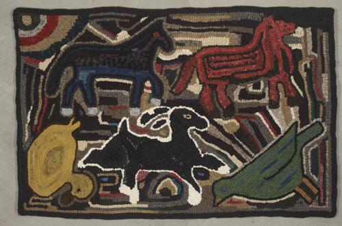 Magdalena's Farm raffle rug - 2' x 3'