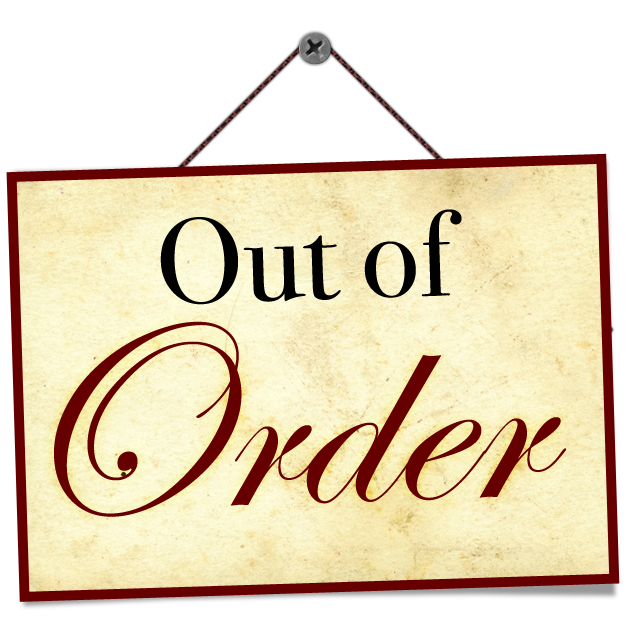 Out Of Order Crow S Foot Farm Designs Llc
