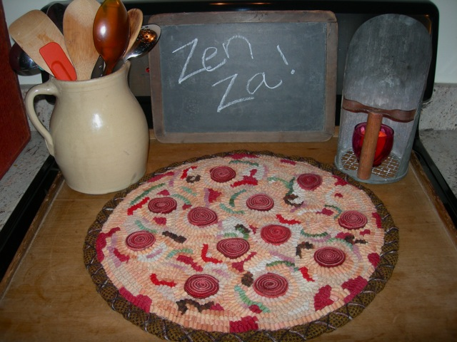 My Zen Pizza in situ.