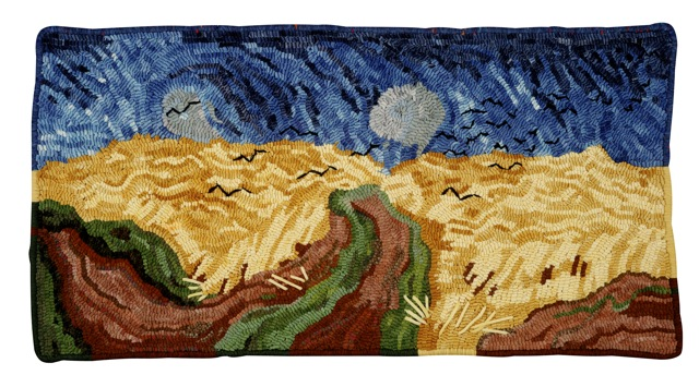 No sunflowers here, but this is my adaptation of Van Gogh's,  Crows Over the Wheat Field . Photo by Impact Expozures.