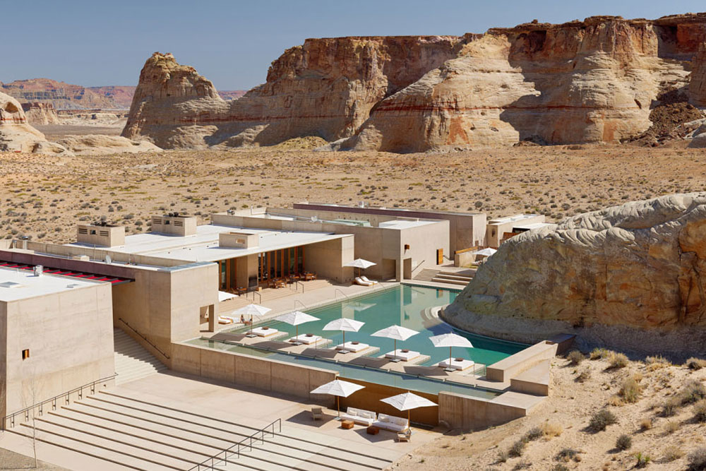 AMANGIRI RESORT, UTAH, USA