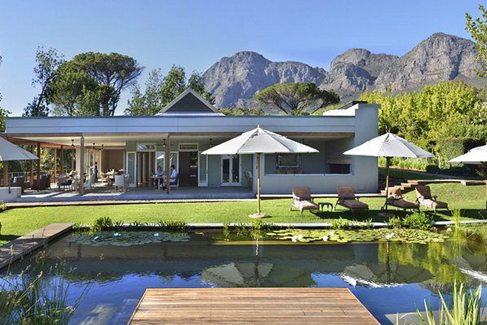 ANGALA BOUTIQUE HOTEL, FRANSCHHOEK, CAPE TOWN, SOUTH AFRICA