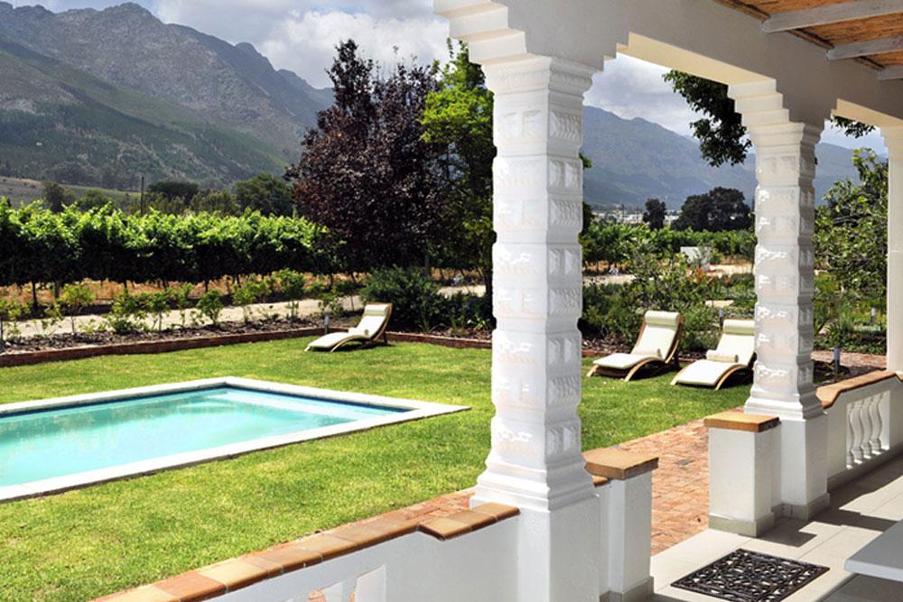 FRANSVLIET GUEST HOUSe, FRANSCHHOEK, SOUTH AFRICA