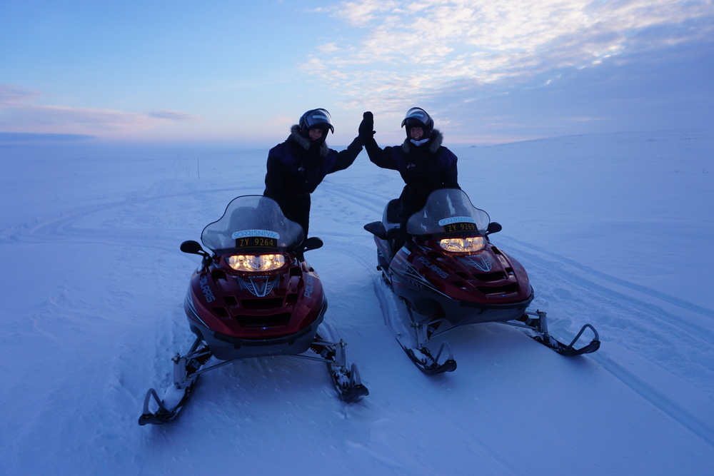 26 Snowmobile safari at the Finnmark Plateau.JPG