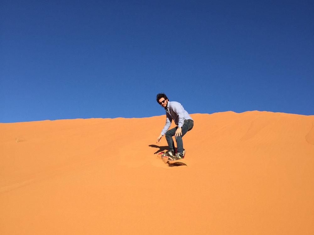 sandboard at kam kam dunes.jpg