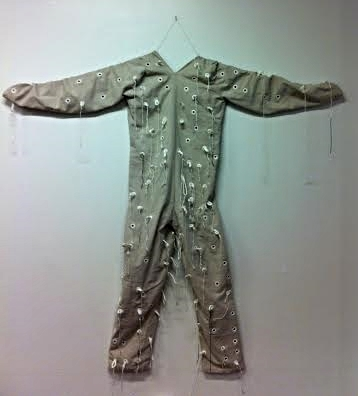 Suit from  Invitation to a Descent , 2012