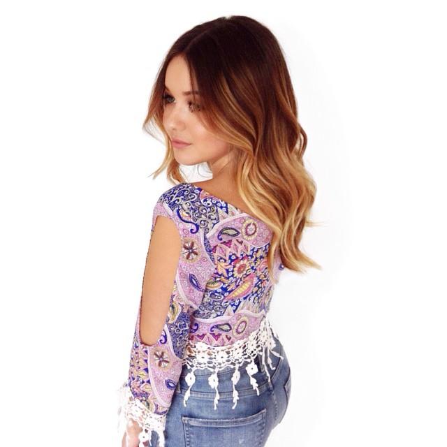 My girl @torriwebster! 💙💜☀️ #sombre #ombre #balayage #foils #rootyblonde #sunkissed #brunette #blonde #caramel ✨Booking @mechesalonla!✨ #mechesalon #mechesalonla #sexyhair #beverlyhillshair #chrisgreenehair