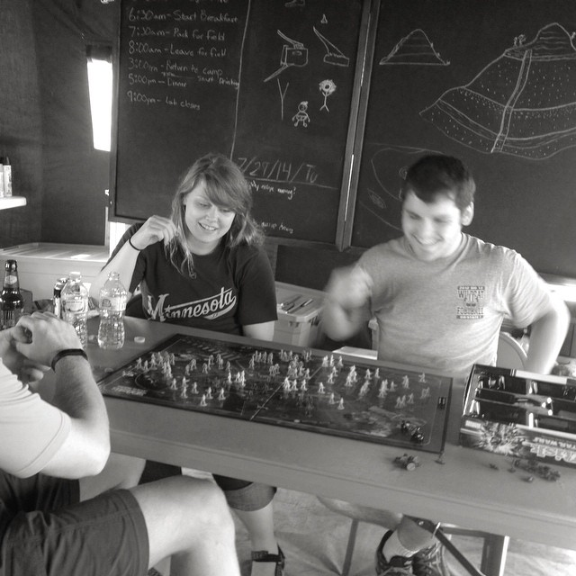 Board games after a rain.  #funandgames #starwars #risk