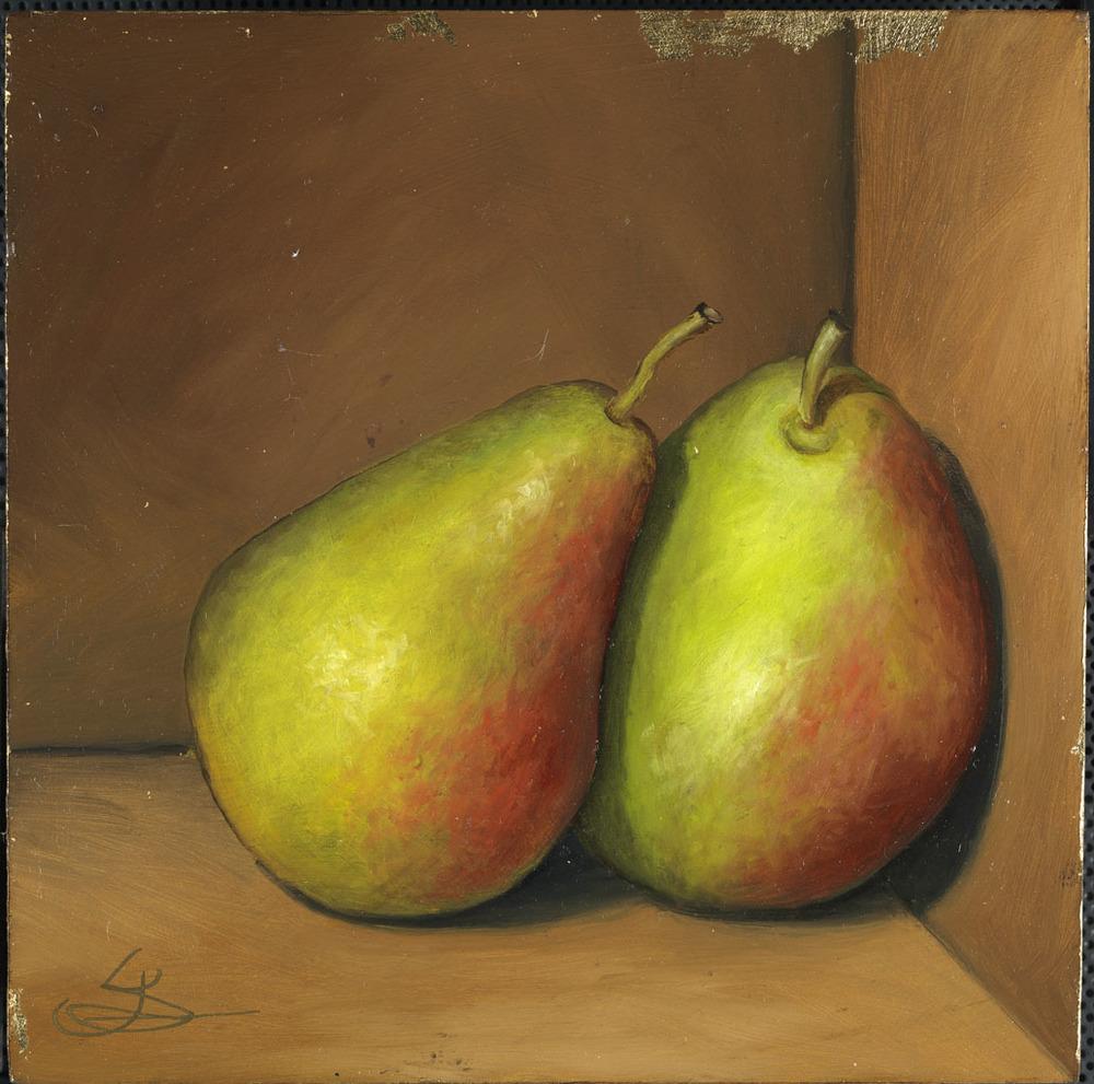 2 Seckel Pears