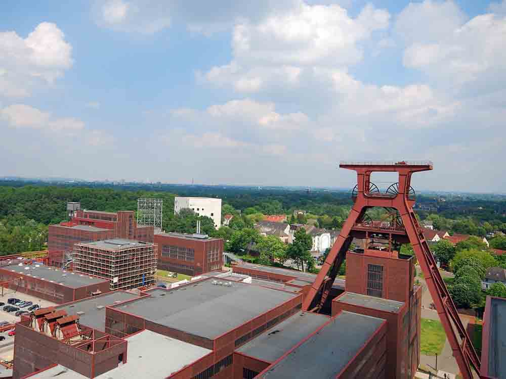 Looking across part of the complex at Zollverein.
