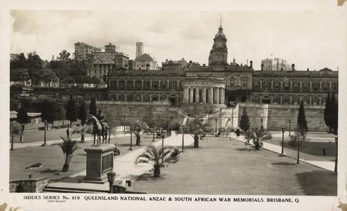 Anzac Square soon after completion. Image: State Library of Queensland.