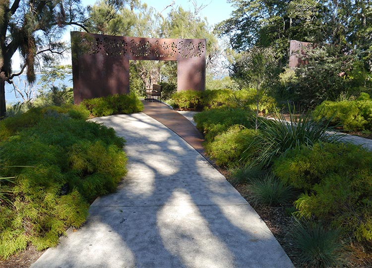 27. The Place of Reflection at Perth's Botanic Gardens