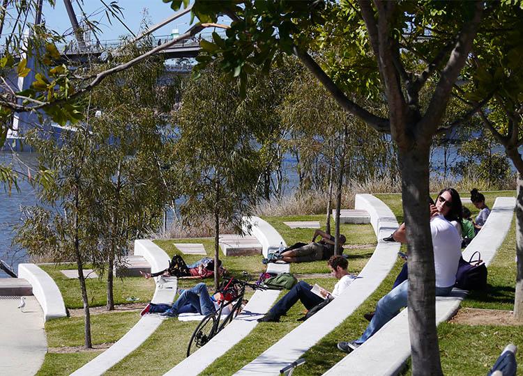 Southbank Parklands, Brisbane.