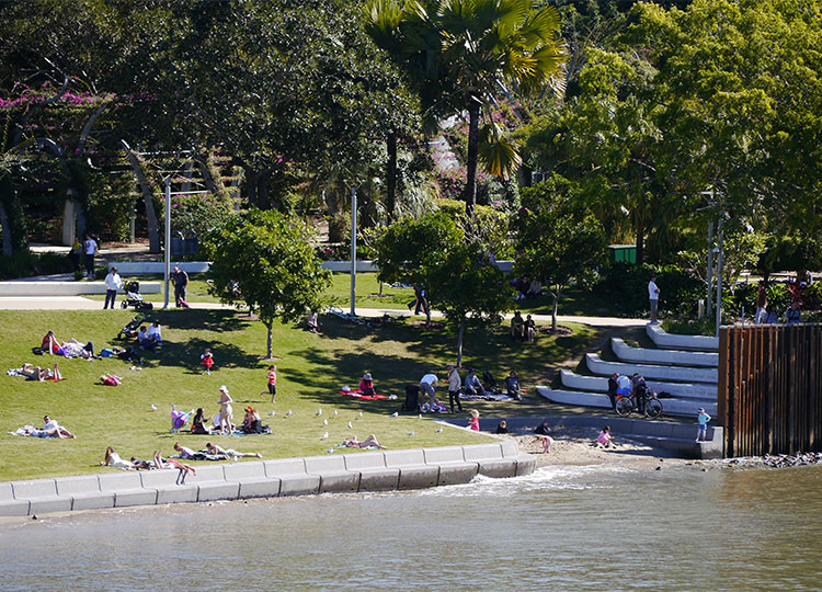 River Quay, Southbank Parklands, Brisbane.