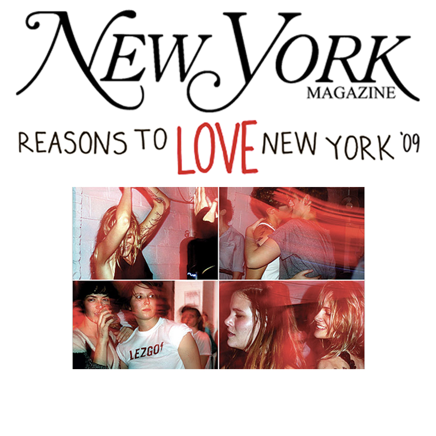NEW YORK MAGAZINE Reasons To Love NY