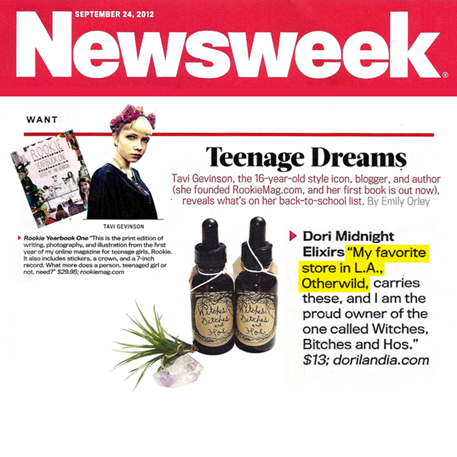 NEWSWEEK   Teenage Dreams