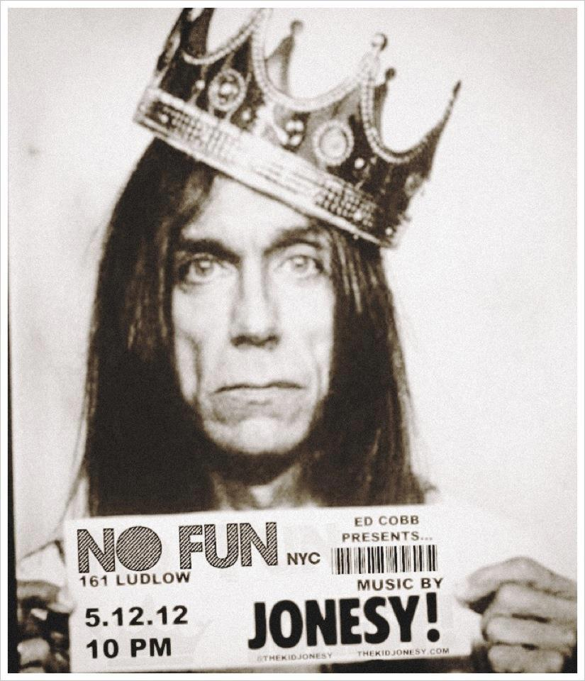 When is the last time you had NO FUN on a Saturday Night? Ed Cobb & DJ Jonesy invite you Saturday May 12th to NO FUN NYC – 161 Ludlow St, where there is plenty of fun to be had! Doors open at 10pm. No Cover.    Facebook Invite     NO FUN 161 Ludlow St New York, NY  Music by: Jonesy Hosted by: Ed Cobb