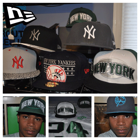 I want to take the time to say a very BIG Thank You to the great people over at  New Era  for their continued support & Fresh Gear!  I must let EVERYONE see the Brand New snap-backs & fitted hats they hooked me and @DJFLO up with.  The NFL/Jets Hats are brand new to New Era and i'm honored to be among the first to get my hands on this stuff.  And of course, the New York staple.. the Yankees fitted.  Thank You!