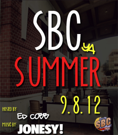 Summer is almost over so we decided to do a little patio party @ SBC to celebrate! DJ Jonesy will be spinning on the Patio for your listening pleasure -its SBC so anything goes!    10 PM