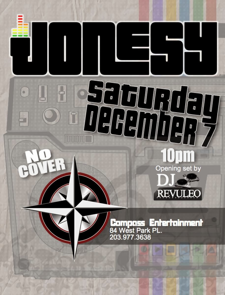 Saturday 12/7 we bring the party to the brand new    Compass Entertainment    in Downtown Stamford, CT.  Party starts at 10pm.  No Cover.  Opening Set by   DJ Revuleo  .  Shout to   RyFy  .