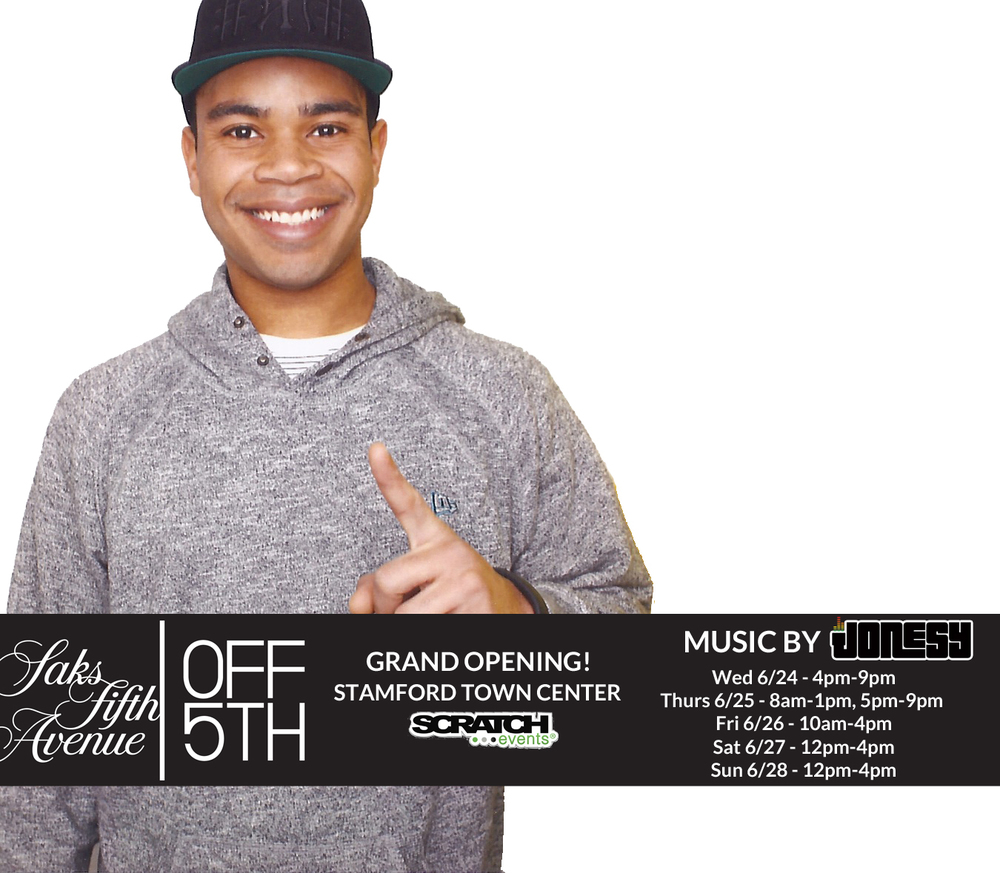 This week join me at the Grand Opening of Saks Off 5th at the Stamford Town Center! Big thank to Scratch Events.