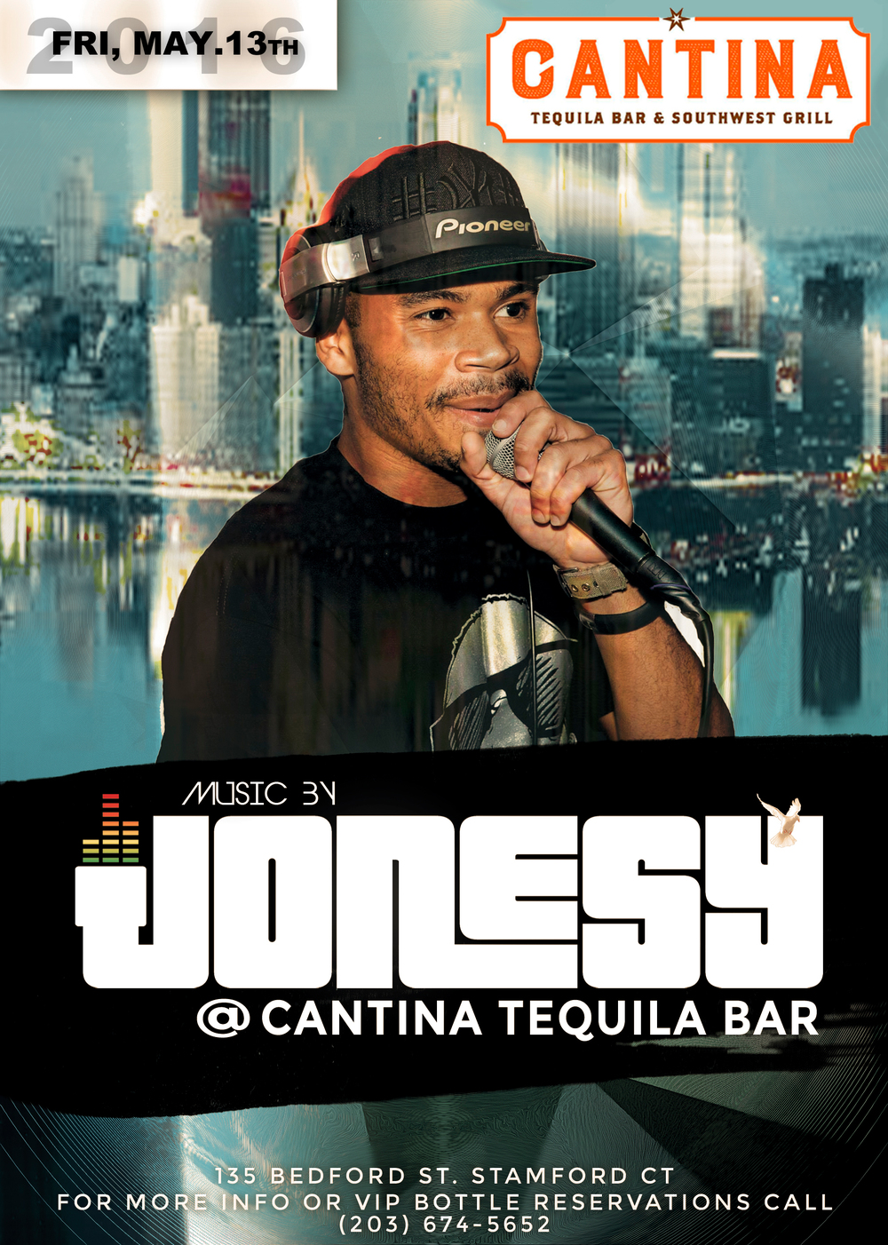 FRIDAY, MAY 13TH JOIN US AT CANTINA TEQUILA BAR & SOUTHWEST GRILL FOR MUSIC BY YOURS TRULY 9PM-CLOSE!  DELICIOUS FOOD, TONS OF TEQUILA + THE BEST MUSIC IN TOWN.  MEET ME THERE!