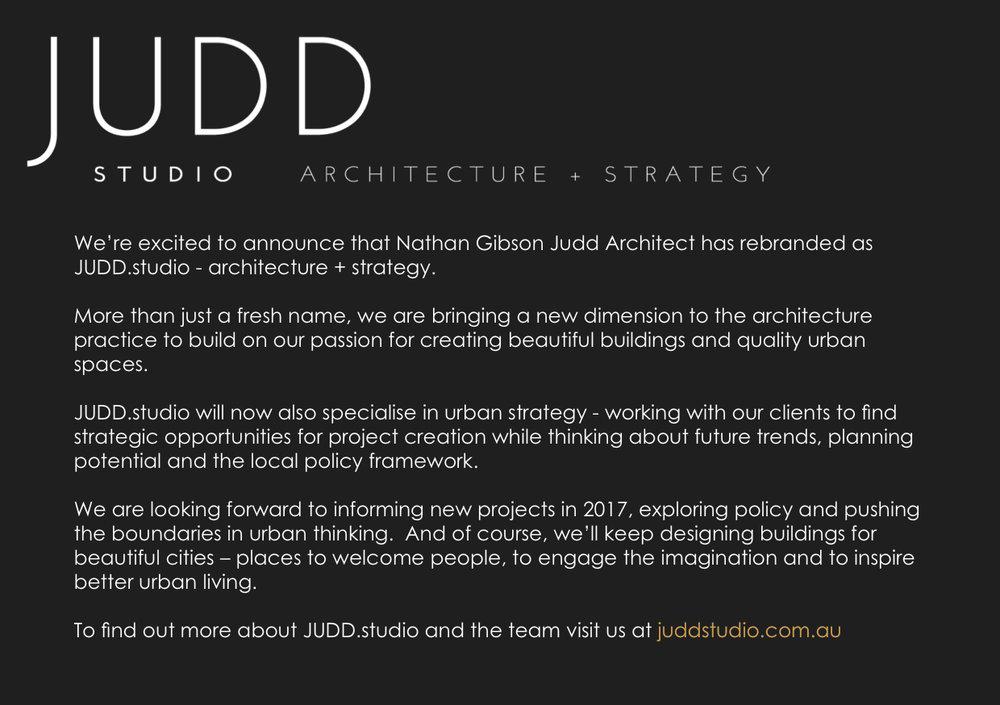 judd studio