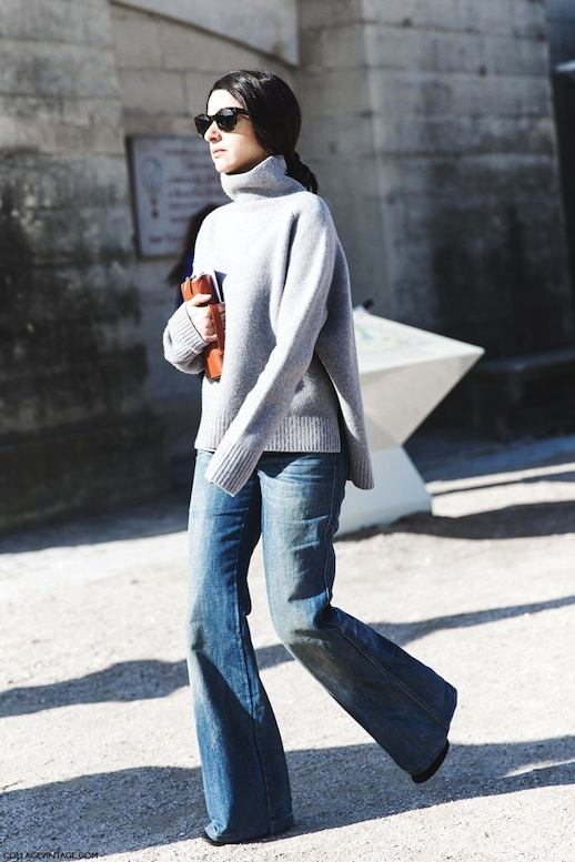 3-Le-Fashion-Blog-9-Ways-To-Wear-Flared-Jeans-Wide-Leg-Denim-Street-Style-Grey-Sweater-Via-Collage-Vintage.jpg