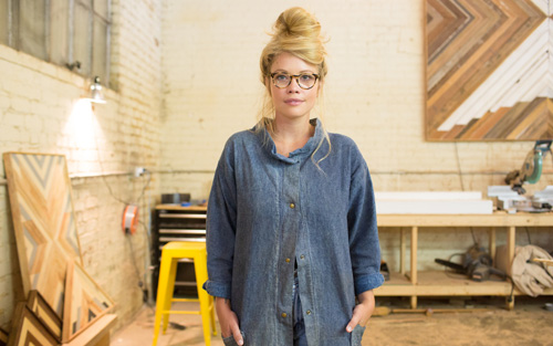 Aleksandra Zee Woodworker