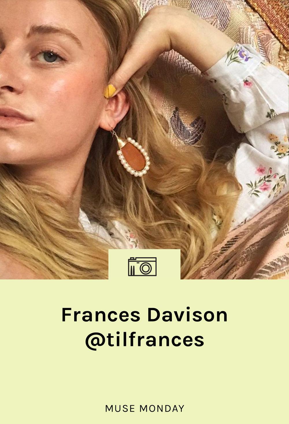 lisa-says-gah-muse-monday-frances-davison
