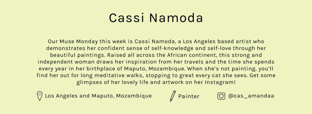 Lisa-Says-Gah-MuseMonday-Cassi-Namoda-Bio.png