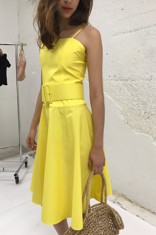 Rachel yellow dress