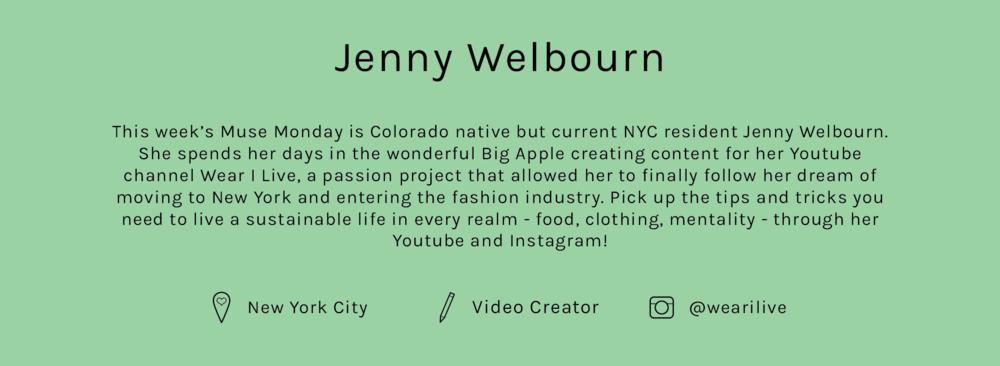 Lisa-Says-Gah-Muse-Monday-Jenny-Welbourn-Bio-NewGreen.png
